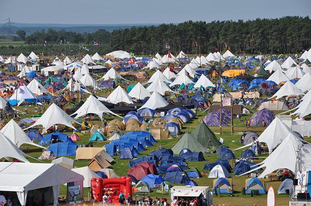 aprire un campeggio